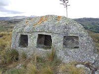 Слева - Окна в Бамбамарке (фото - http://caxadestinos.blogspot.ru/2011/02/encanada-magica-e-historica-jalca-de.html ), справа окна в Комбаё (фото - http://caxadestinos.blogspot.ru/2011/02/encanada-magica-e-historica-jalca-de.html )