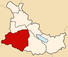 Месторасположение района Чекка, провинции Канас, региона Куско(фото - http://en.wikipedia.org/wiki/Checca_District )