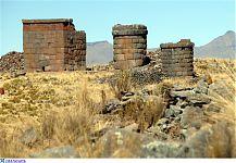 Две башни и одна из прямоугольных построек. (фото - http://isida-project.org/forum/72-2533-1 )