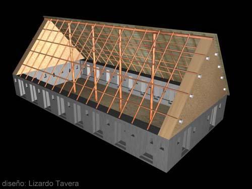 Реконструкция полигонального основания церкви (фото - http://www.arqueologiadelperu.com.ar/huaytara.htm )