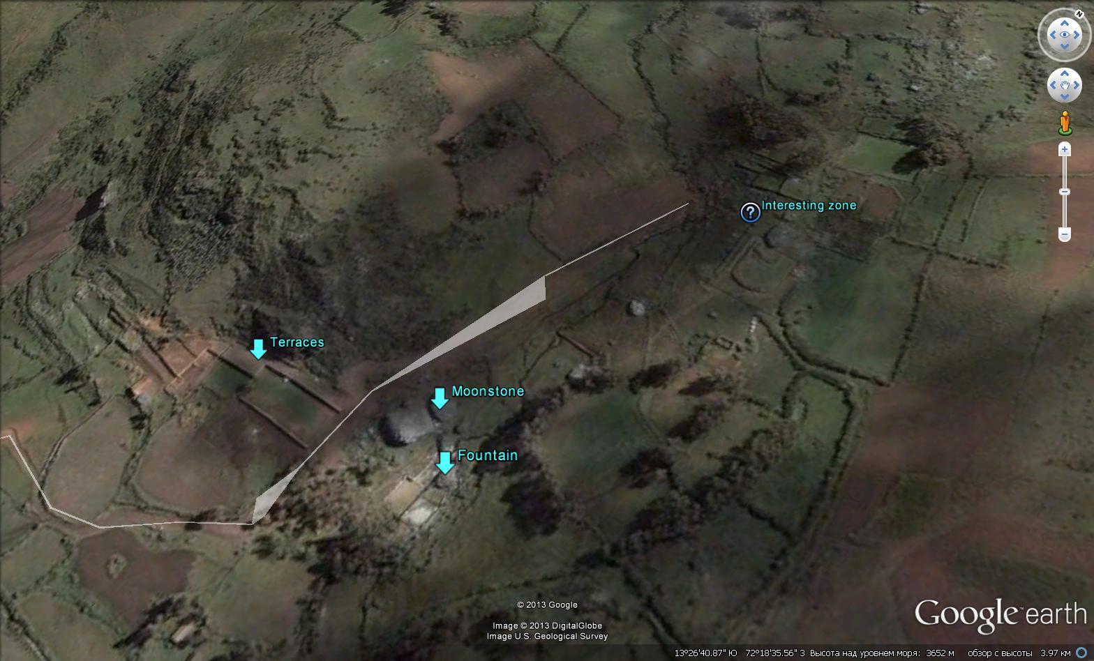 Схема археологического объекта - Килларумиёг
