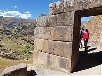 Прерывание крепостной стены трапециевидными вратами инков. (фото - http://isida-project.org/forum/72-5238-1 автор prosvet222)