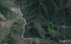 Рис.1.6 Поселки в Перу в шаговой доступности от Мачу-Пикчу.